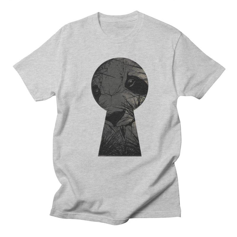 Peeping Panda Men's T-Shirt by mitchdosdos's Shop