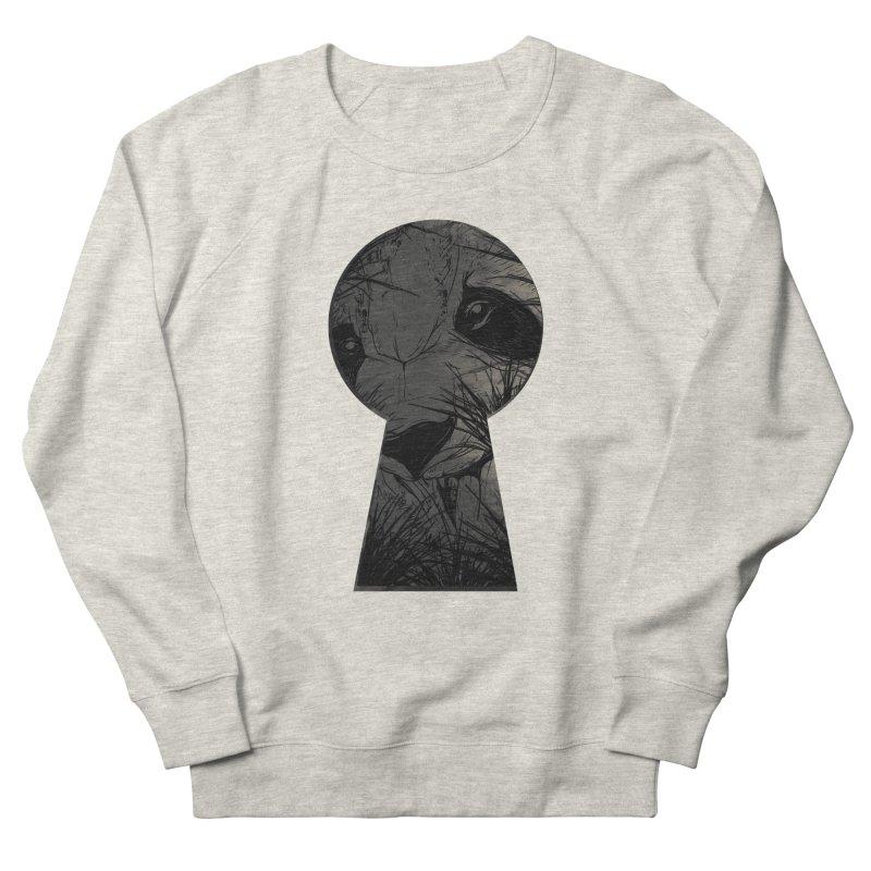 Peeping Panda Men's Sweatshirt by mitchdosdos's Shop