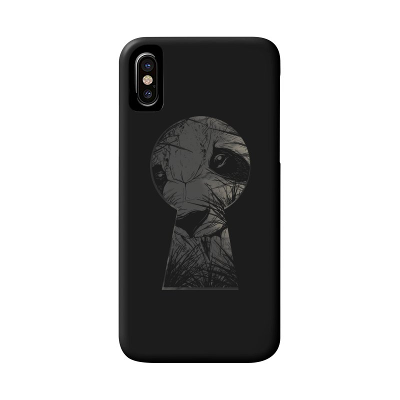 Peeping Panda Accessories Phone Case by mitchdosdos's Shop