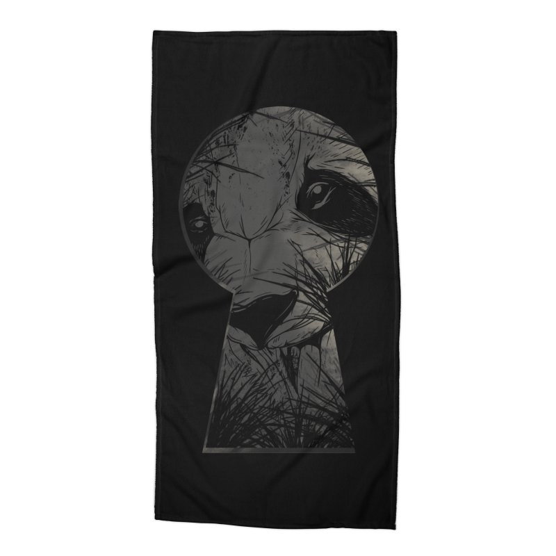 Peeping Panda Accessories Beach Towel by mitchdosdos's Shop