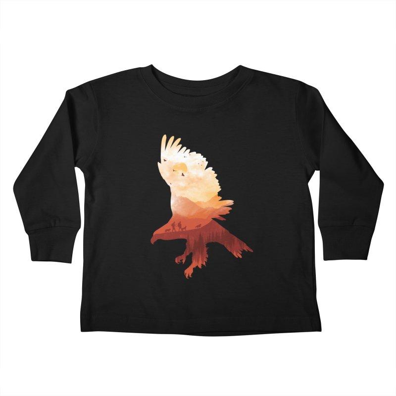 Dawn Hunters Kids Toddler Longsleeve T-Shirt by mitchdosdos's Shop