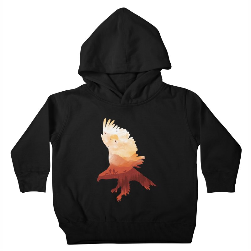 Dawn Hunters Kids Toddler Pullover Hoody by mitchdosdos's Shop