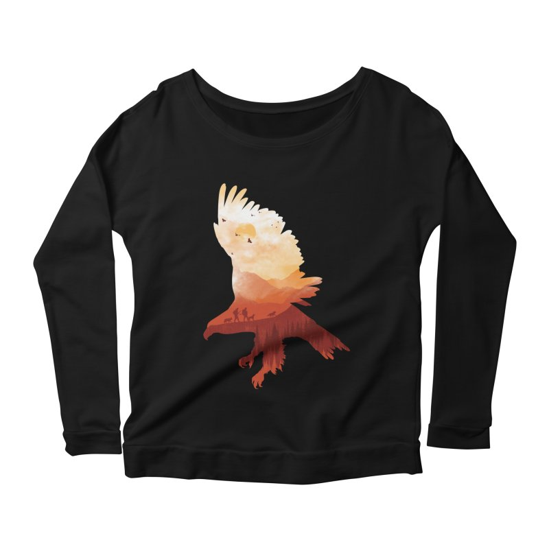Dawn Hunters Women's Longsleeve Scoopneck  by mitchdosdos's Shop