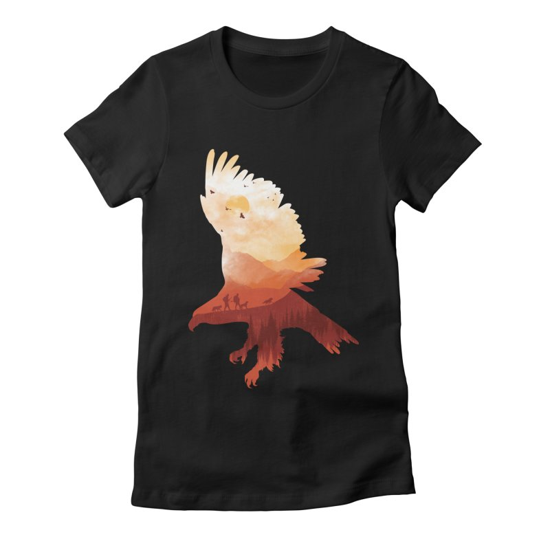 Dawn Hunters Women's Fitted T-Shirt by mitchdosdos's Shop
