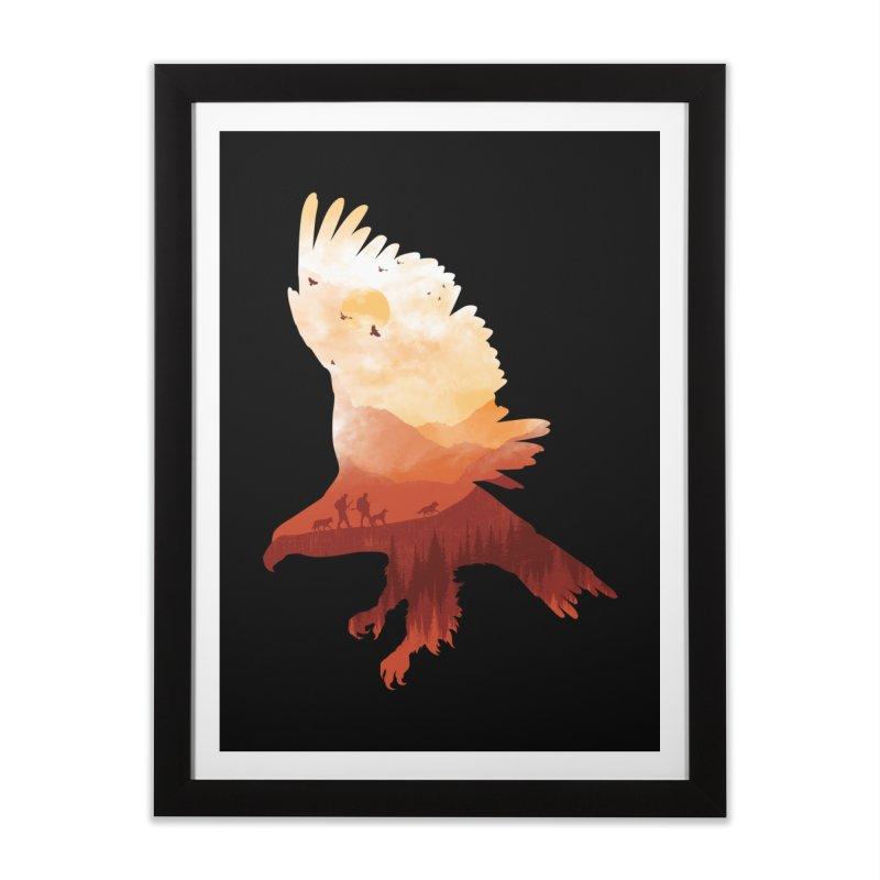 Dawn Hunters Home Framed Fine Art Print by mitchdosdos's Shop