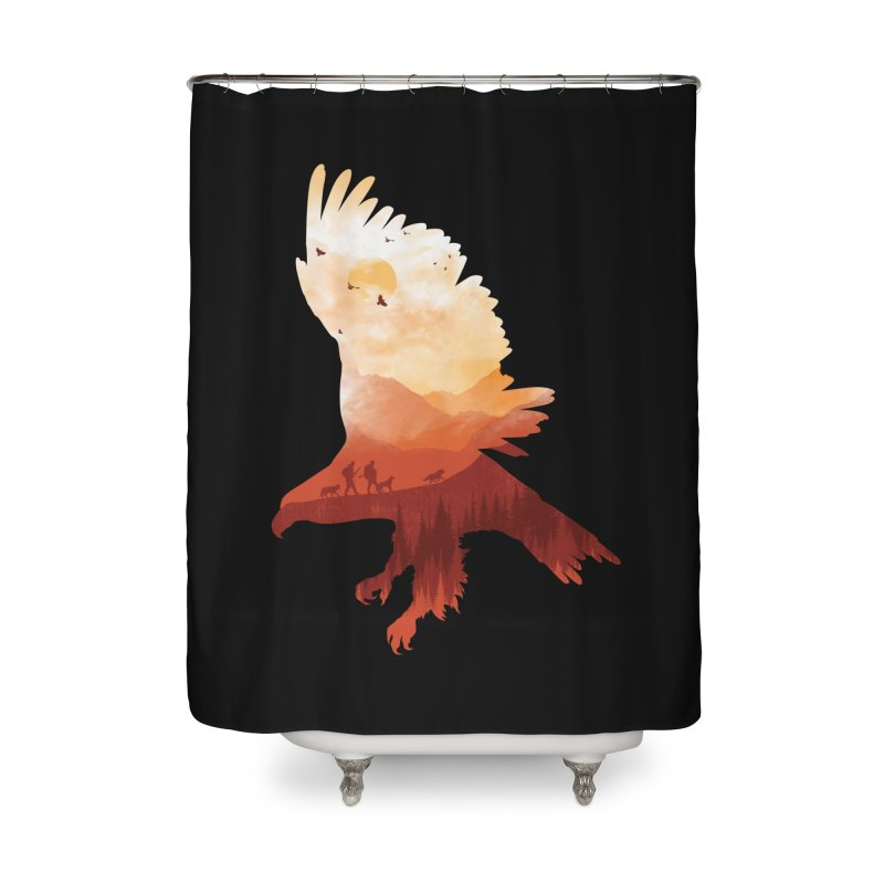 Dawn Hunters Home Shower Curtain by mitchdosdos's Shop