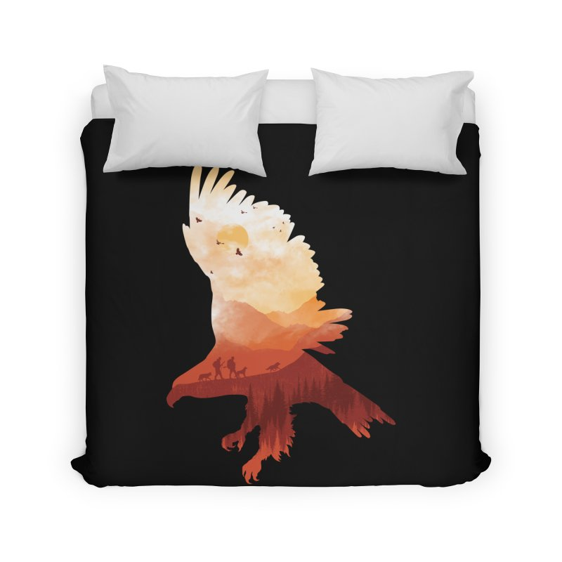 Dawn Hunters Home Duvet by mitchdosdos's Shop