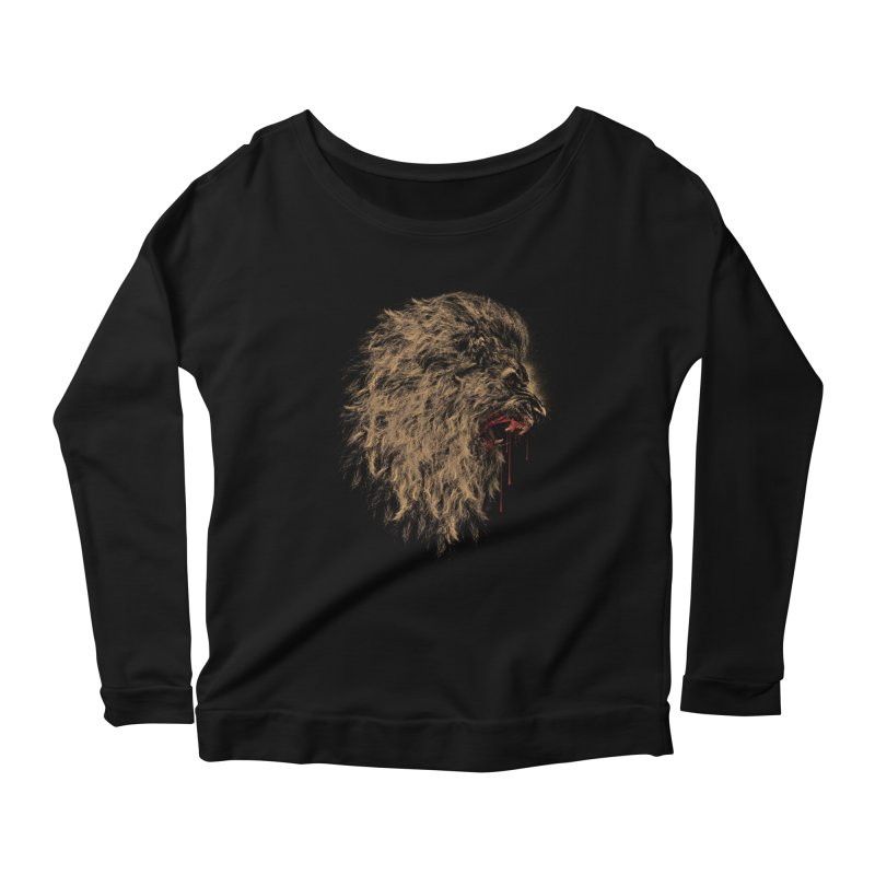 The King Women's Longsleeve Scoopneck  by mitchdosdos's Shop