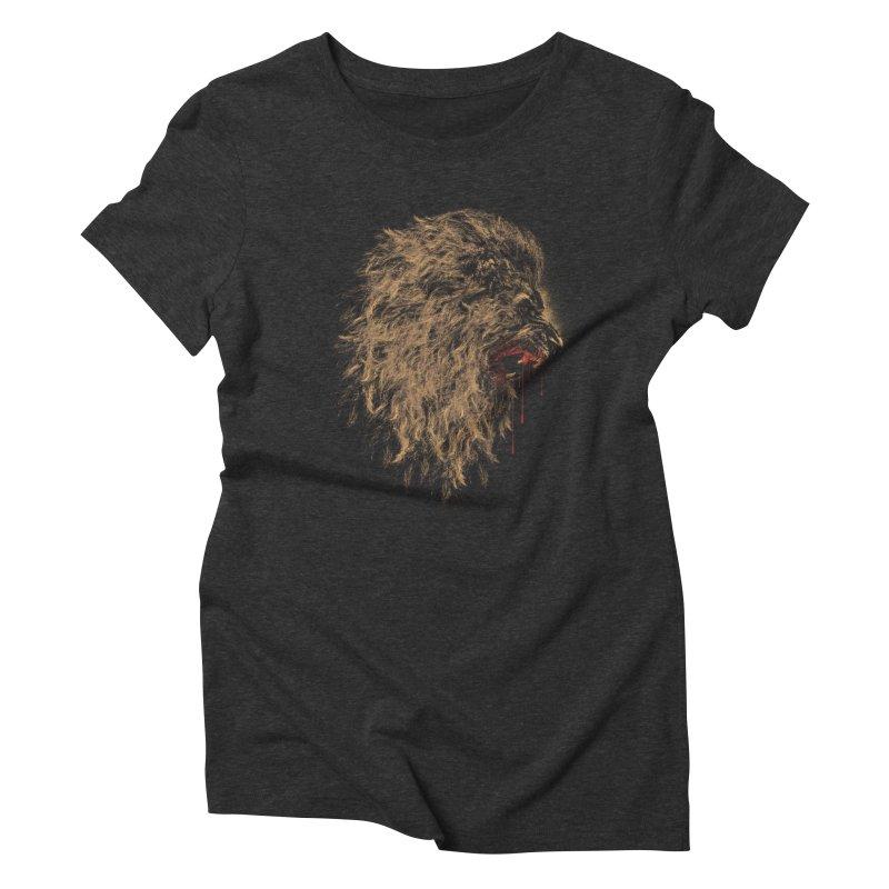 The King Women's Triblend T-Shirt by mitchdosdos's Shop