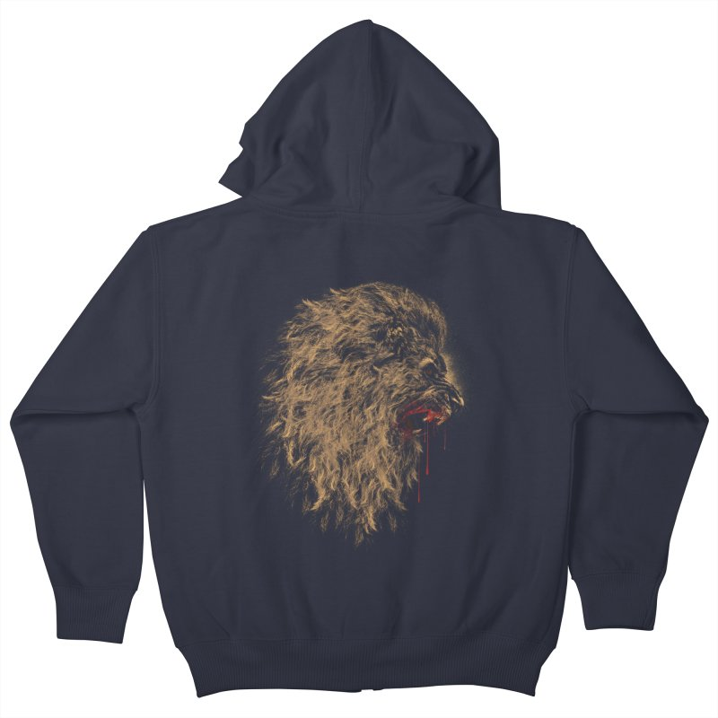 The King Kids Zip-Up Hoody by mitchdosdos's Shop