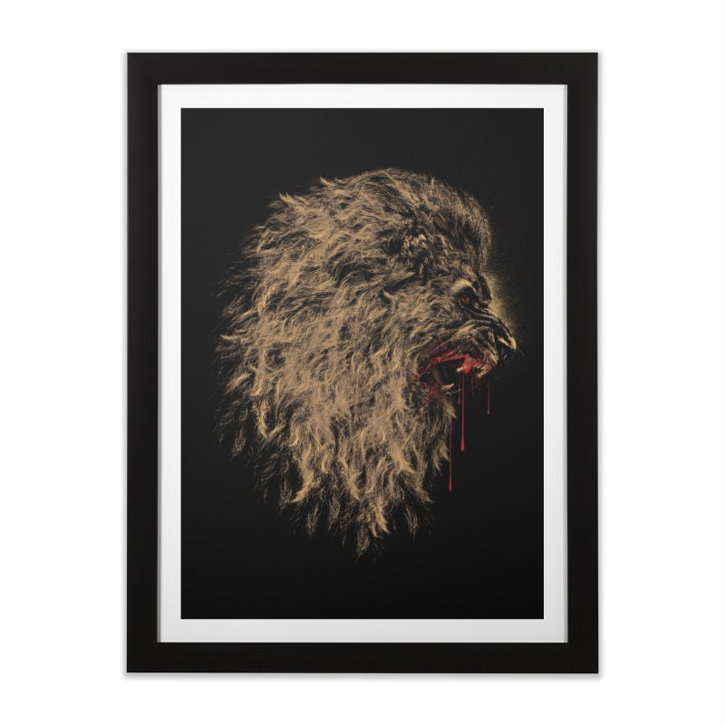 The King Home Framed Fine Art Print by mitchdosdos's Shop