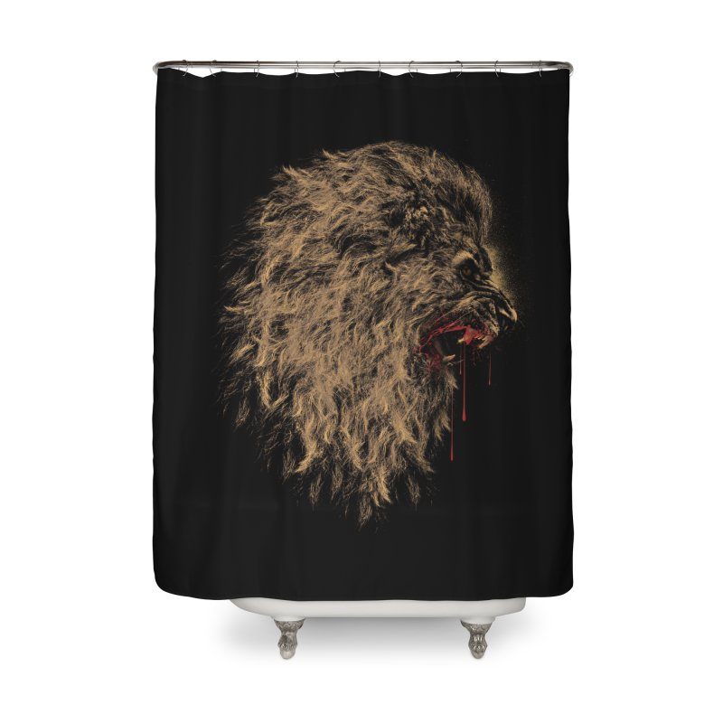 The King Home Shower Curtain by mitchdosdos's Shop