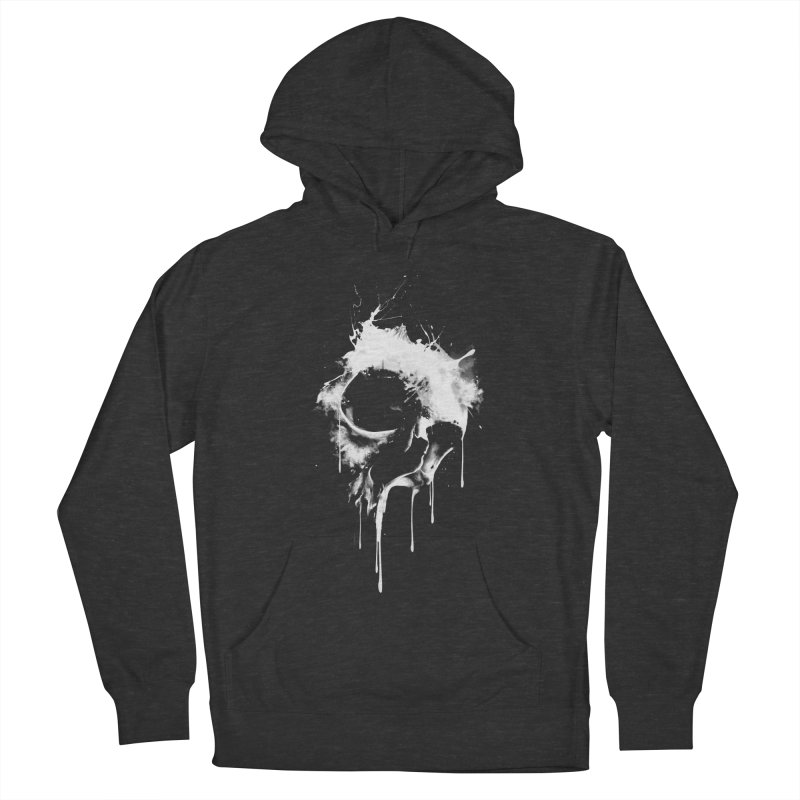 Melted Skull Men's Pullover Hoody by mitchdosdos's Shop