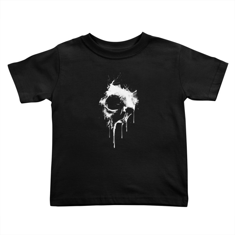 Melted Skull Kids Toddler T-Shirt by mitchdosdos's Shop