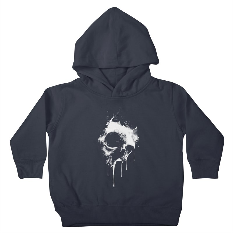 Melted Skull Kids Toddler Pullover Hoody by mitchdosdos's Shop