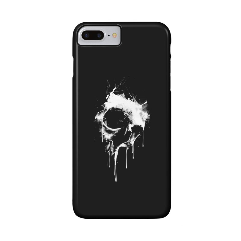 Melted Skull Accessories Phone Case by mitchdosdos's Shop