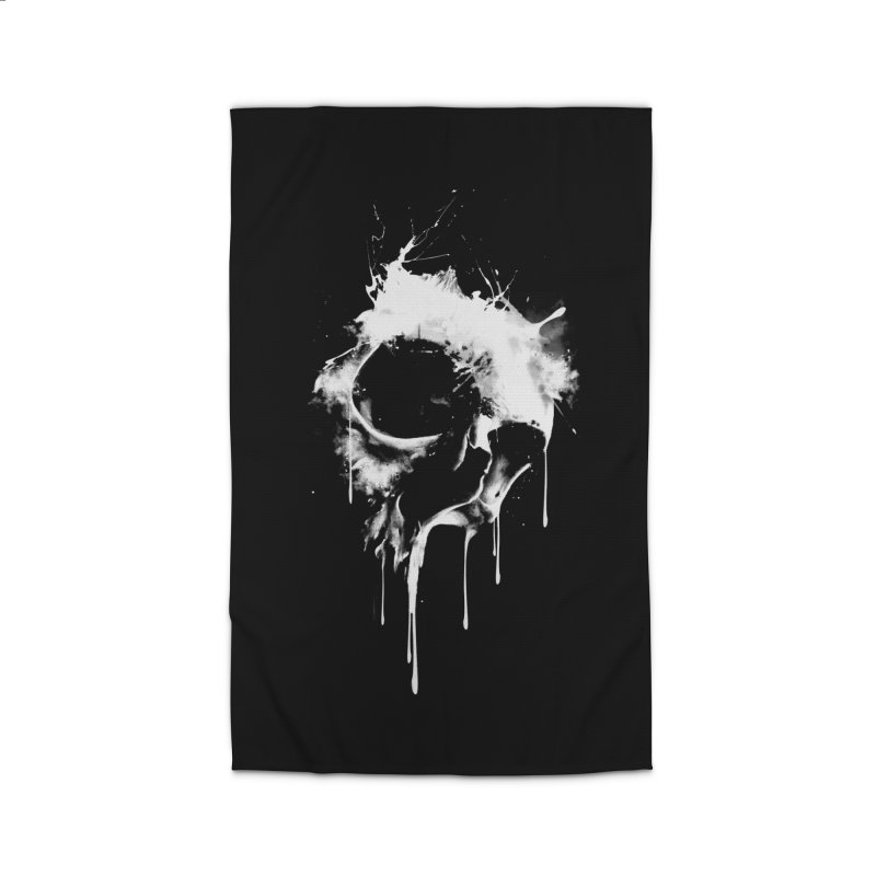 Melted Skull Home Rug by mitchdosdos's Shop