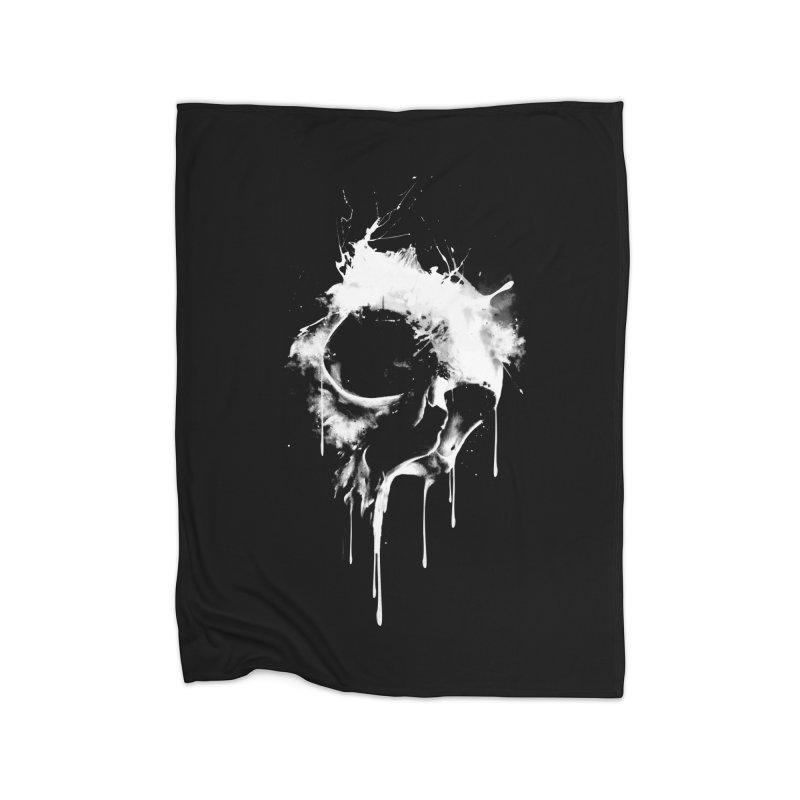 Melted Skull Home Blanket by mitchdosdos's Shop