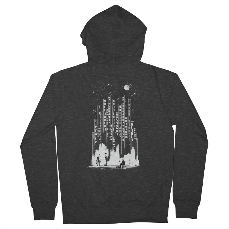 Midnight Painter Women's Zip-Up Hoody by mitchdosdos's Shop