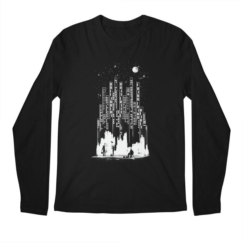 Midnight Painter Men's Longsleeve T-Shirt by mitchdosdos's Shop