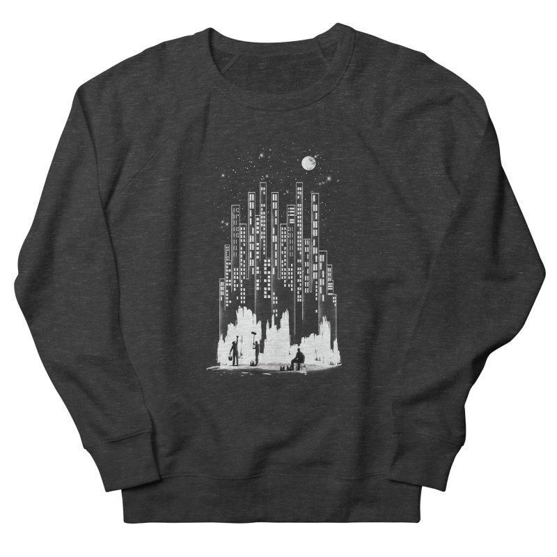 Midnight Painter Men's Sweatshirt by mitchdosdos's Shop