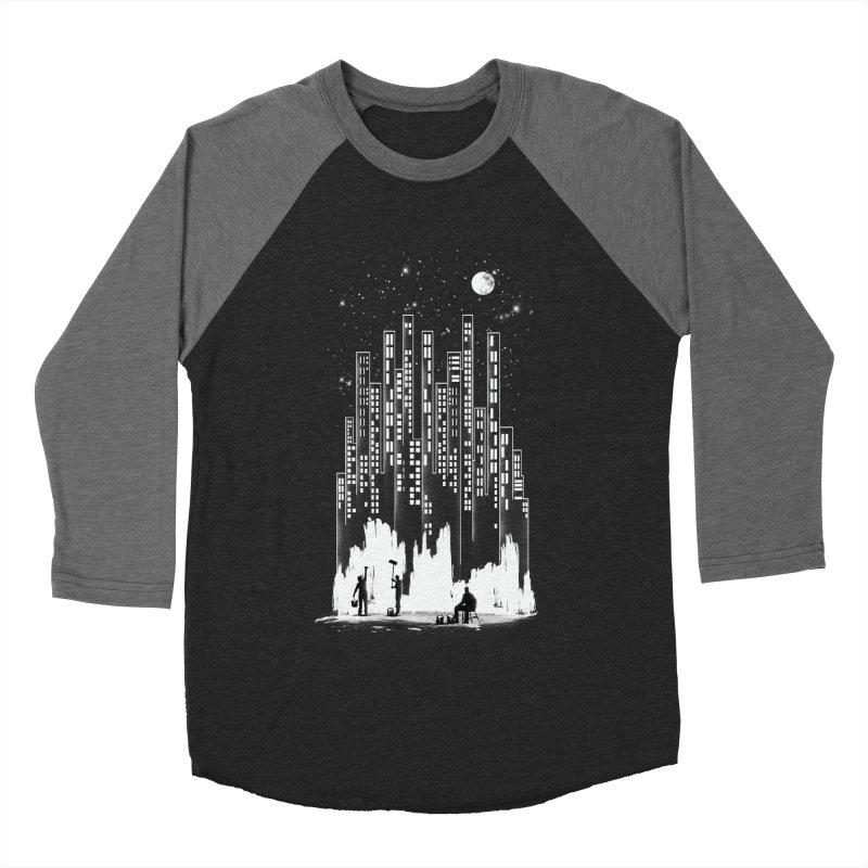 Midnight Painter Men's Baseball Triblend T-Shirt by mitchdosdos's Shop