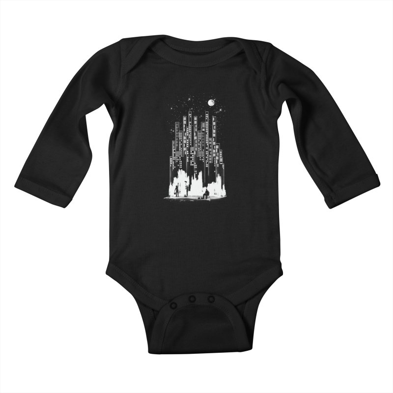Midnight Painter Kids Baby Longsleeve Bodysuit by mitchdosdos's Shop