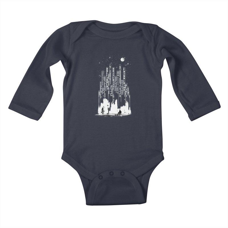 Midnight Painter Kids Baby Longsleeve Bodysuit by mitchdosdos's Shop