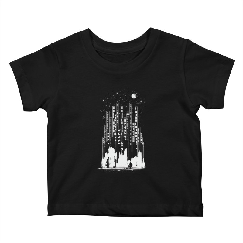 Midnight Painter Kids Baby T-Shirt by mitchdosdos's Shop