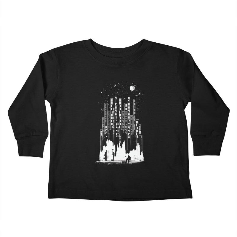 Midnight Painter Kids Toddler Longsleeve T-Shirt by mitchdosdos's Shop