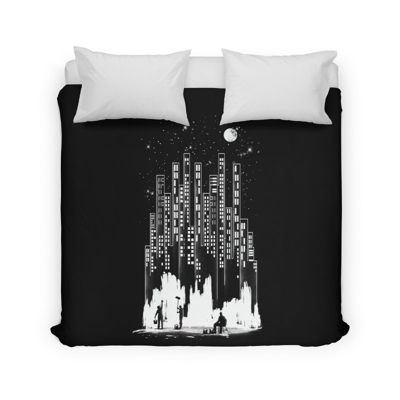 Midnight Painter Home Duvet by mitchdosdos's Shop