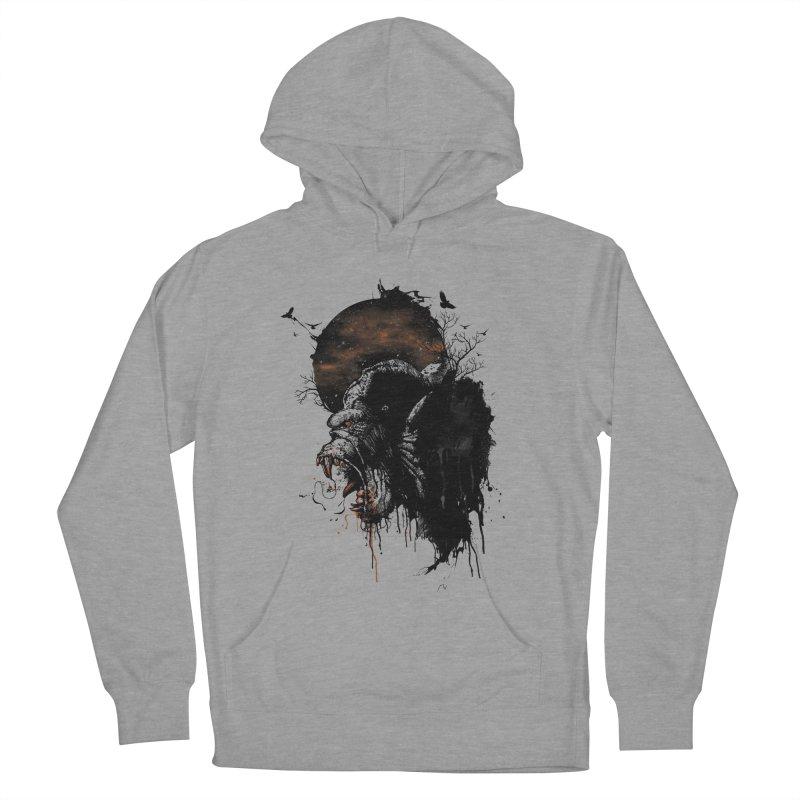 Raging Gorilla Women's Pullover Hoody by mitchdosdos's Shop