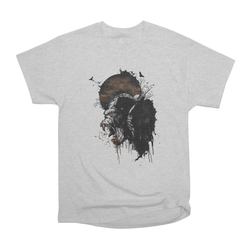 Raging Gorilla Women's Classic Unisex T-Shirt by mitchdosdos's Shop