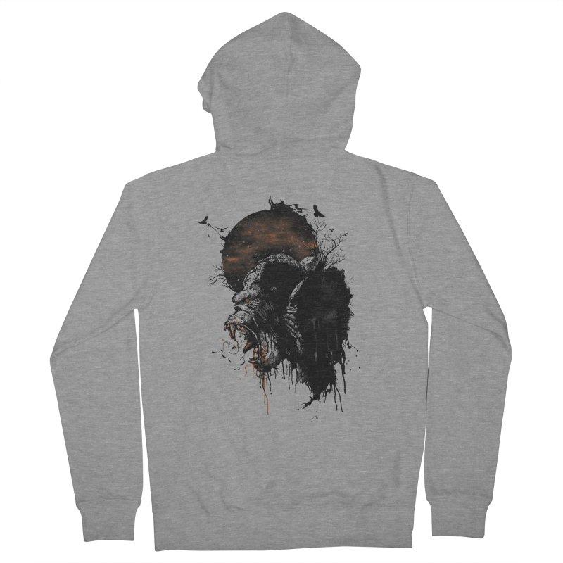 Raging Gorilla Women's Zip-Up Hoody by mitchdosdos's Shop