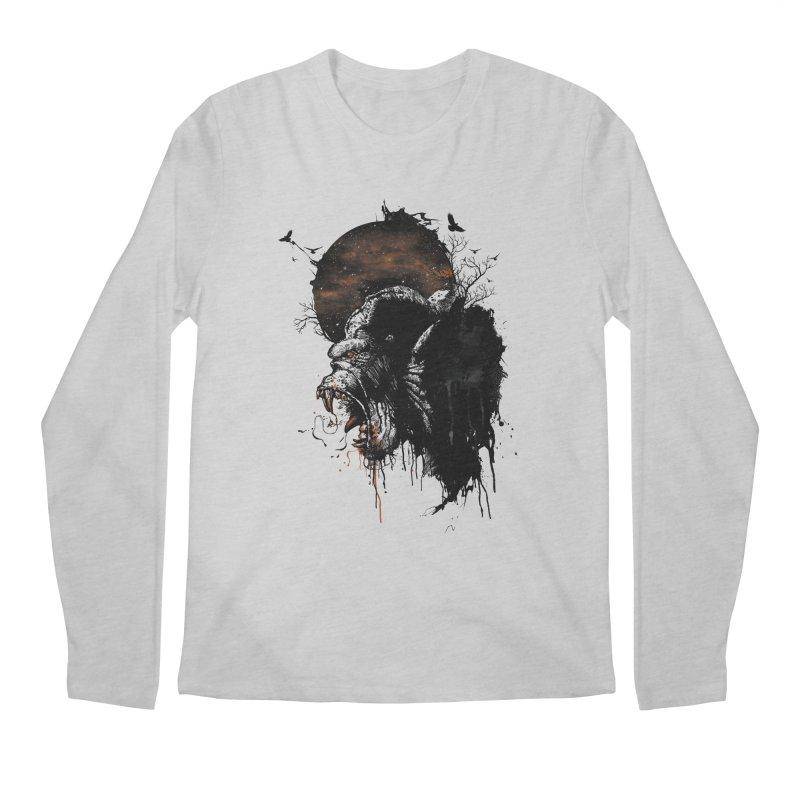 Raging Gorilla Men's Longsleeve T-Shirt by mitchdosdos's Shop