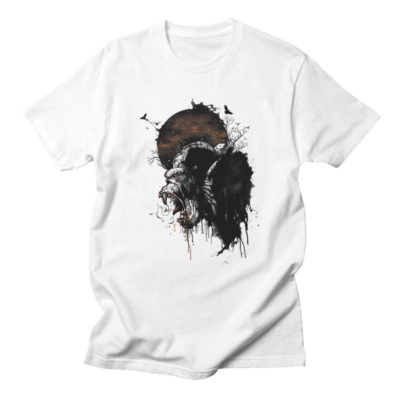 Raging Gorilla Women's Unisex T-Shirt by mitchdosdos's Shop