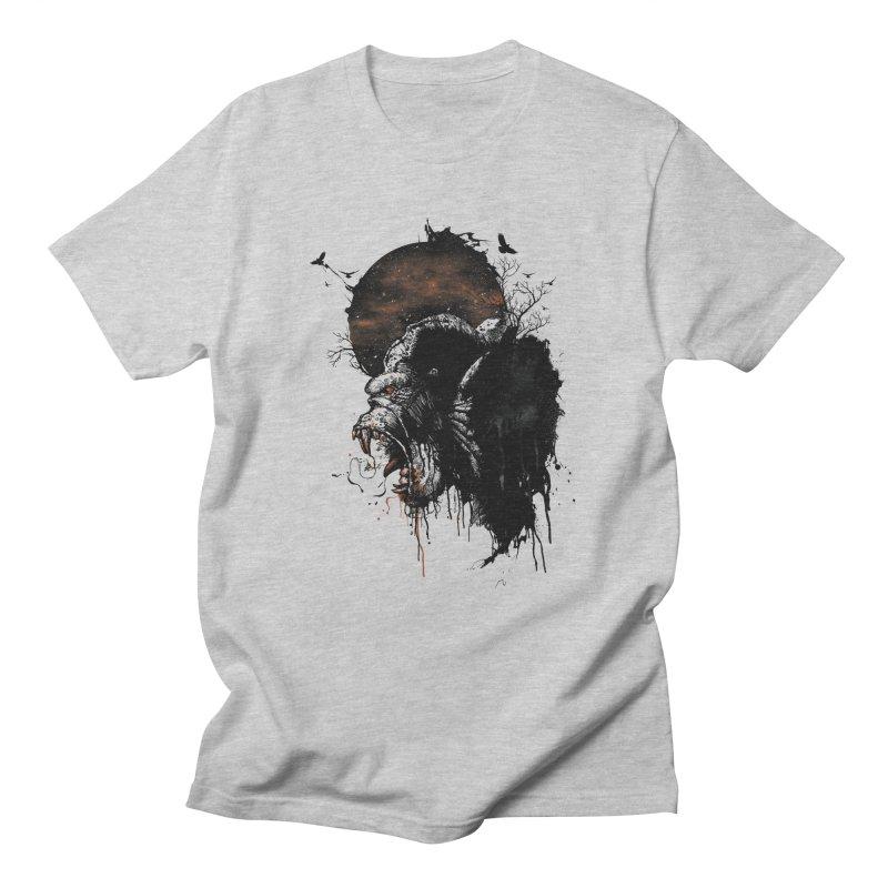 Raging Gorilla Men's T-Shirt by mitchdosdos's Shop