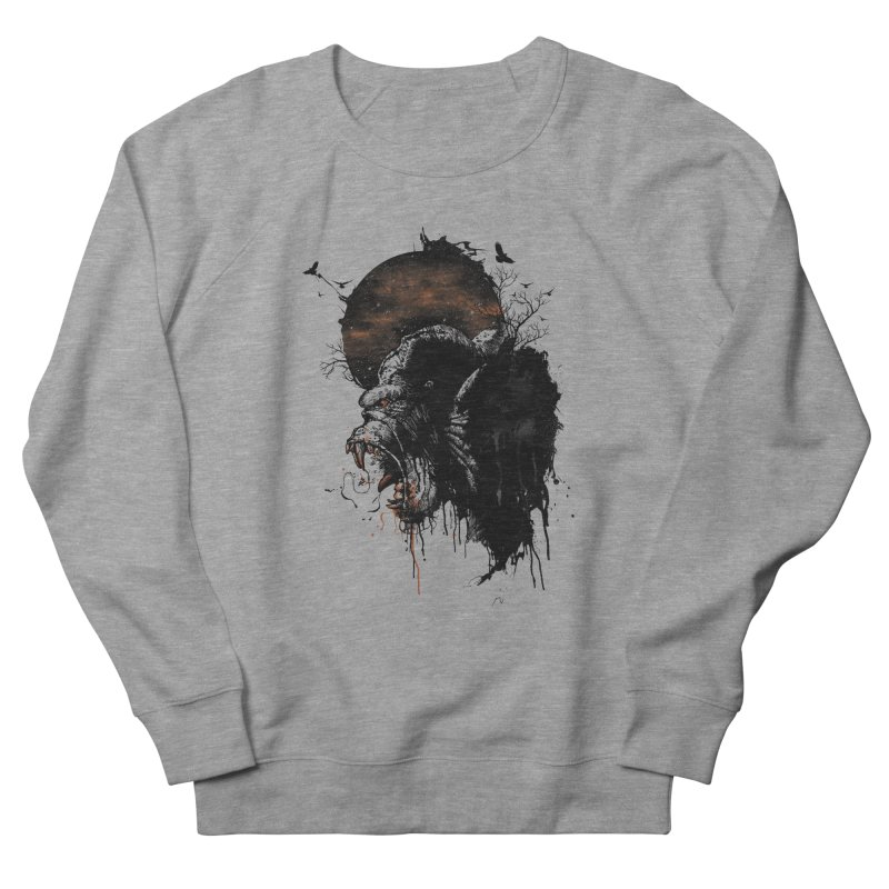Raging Gorilla Women's Sweatshirt by mitchdosdos's Shop