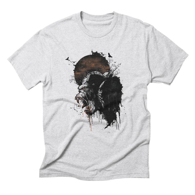 Raging Gorilla Men's Triblend T-Shirt by mitchdosdos's Shop