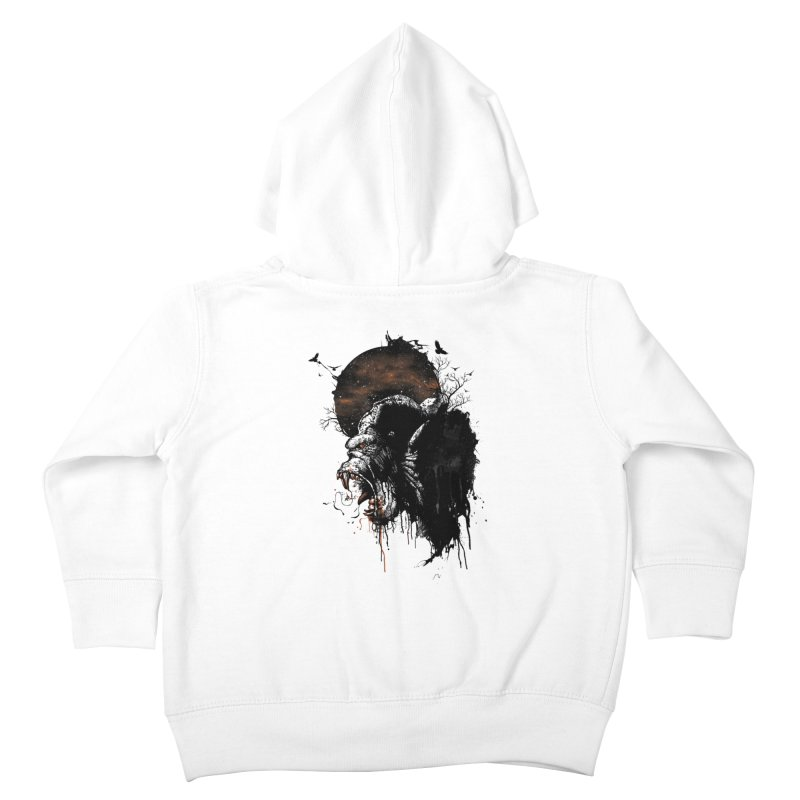 Raging Gorilla Kids Toddler Zip-Up Hoody by mitchdosdos's Shop