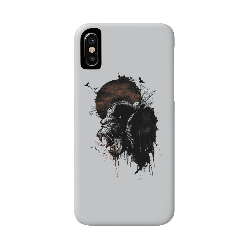 Raging Gorilla Accessories Phone Case by mitchdosdos's Shop