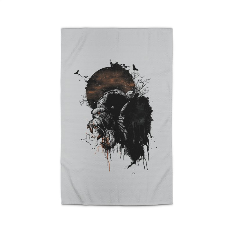 Raging Gorilla Home Rug by mitchdosdos's Shop