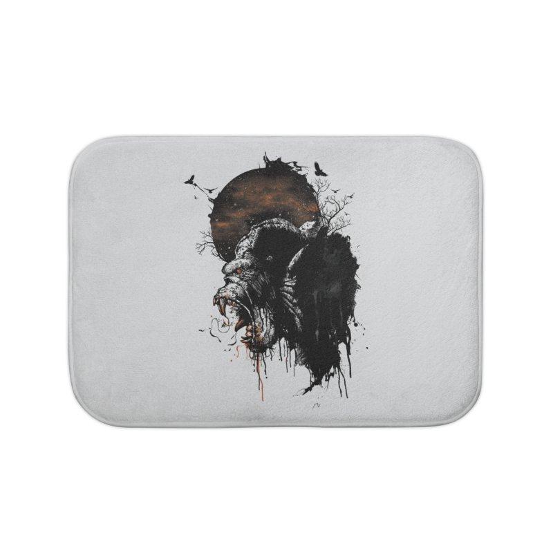 Raging Gorilla Home Bath Mat by mitchdosdos's Shop