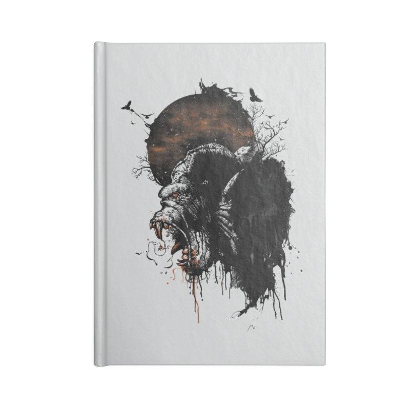 Raging Gorilla Accessories Notebook by mitchdosdos's Shop