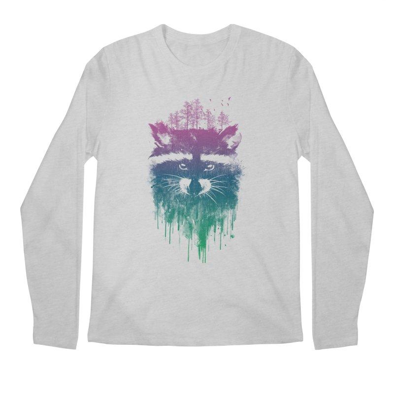 Raccoon Men's Longsleeve T-Shirt by mitchdosdos's Shop
