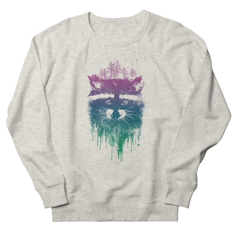 Raccoon Women's Sweatshirt by mitchdosdos's Shop