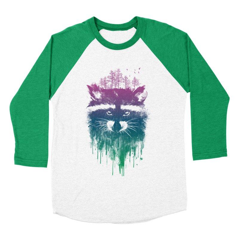 Raccoon Women's Baseball Triblend T-Shirt by mitchdosdos's Shop