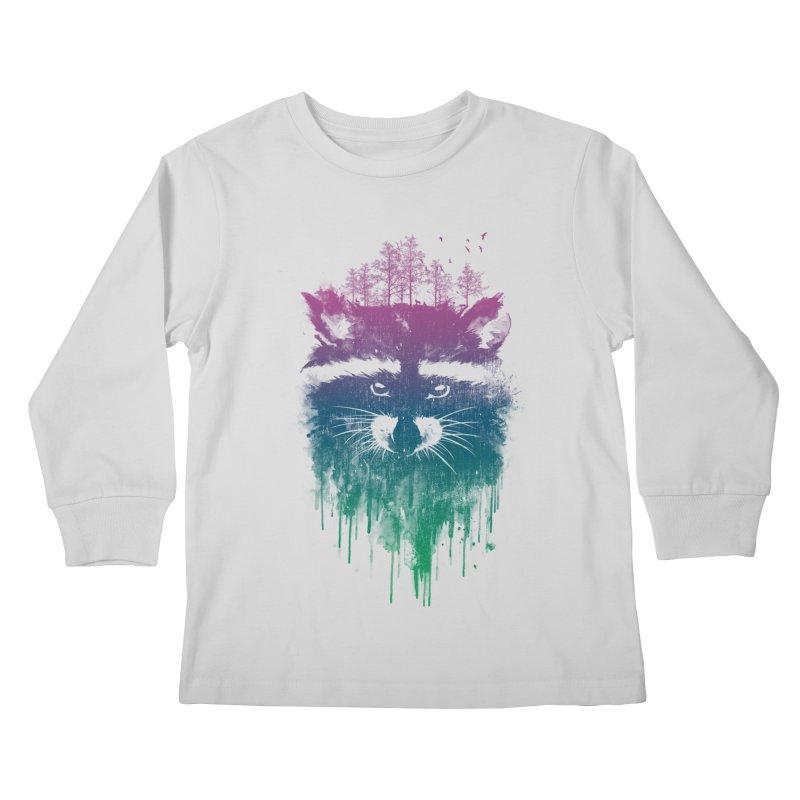 Raccoon Kids Longsleeve T-Shirt by mitchdosdos's Shop