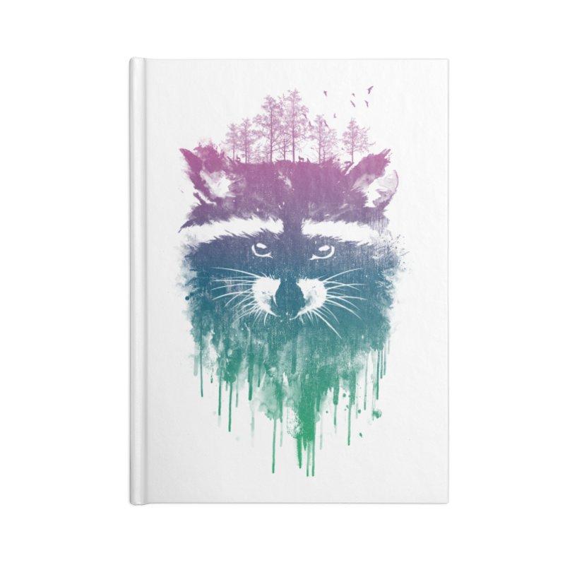 Raccoon Accessories Notebook by mitchdosdos's Shop
