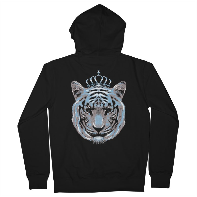 Queen Of The Jungle Men's Zip-Up Hoody by mitchdosdos's Shop